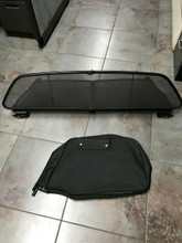 Porsche 996 997 911 Cabriolet Convertible Wind Screen Air Deflector with Bag OEM