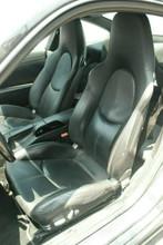Porsche 911 997 Sport Seats Black Leather Hardback 987 Cayman Boxster
