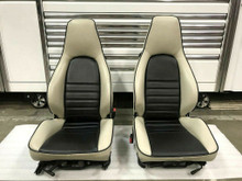 RARE Porsche 911 964 965 Carrera Turbo RECARO Sport Seats Front Left and Right