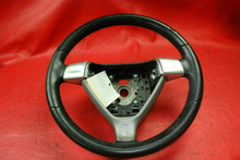 Porsche 911 997 987 Boxster Cayman Manual Steering Wheel 99734780403 Black OEM