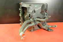 PORSCHE 911 997 CARRERA S GT3 LEFT RADIATOR W/ DUCT HOSES & BRACKET ASSEMBLY OEM