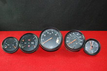Porsche 911 Carrera 87-89 3.2 Gauges Speedometer Tachometer clock fuel Oil Set