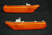 Porsche 911 996 Boxster 986 OEM Amber Side Markers Light Right & Left 996.631.044.01 996.631.043.01