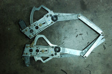 Porsche 911 964 993 88-98 Power Window Regulator W/ Motors Pair Left Right