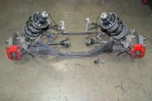 Porsche 987 05-08 Cayman S Rear Suspension Assembly Bracke calipers axles shocks