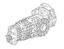 Porsche 911 997 Twin Turbo Manual Gearbox Transmission Transaxle 6 Speed
