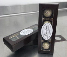 4 Piece Truffle Assortment w/ Wine Hanger Box
