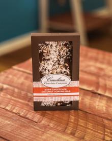 Dark Chocolate Coconut Almond Gourmet  Bar