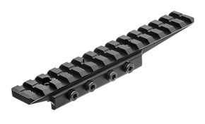 UTG Universal Dovetail to Picatinny/Weaver Rail Adapter - Black