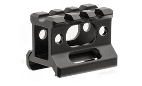 "UTG Super Slim 3 Slot 1"" Height Picatinny Riser Mount"