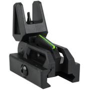 Valken Folding Front Sight - Black/Neon