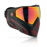 DYE i5 Invision Paintball Goggles - FIRE 2.0 BLK/RED