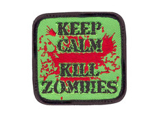 Rothco Keep Calm Kill Zombies Velco Patch