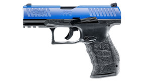 T4E Walther PPQ M2 .43 Cal  Paintball Marker w/2 Mags - Blue/Black