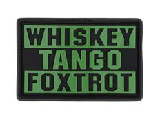 Condor Whiskey Tango Foxtrot PVC Patch