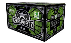 GI Sportz 2 Star Strategic 50 Cal Paintballs - 2000rd