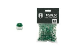 FIRST STRIKE .50 cal FSR Paintballs - 100 ct