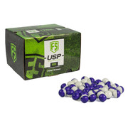 FIRST STRIKE (600 RD) USP Ultra Spherical Rounds Paintballs - Purple/Clear