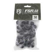 FIRST STRIKE .68 cal FSR Rubber Paintballs - 50 ct