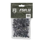 FIRST STRIKE .50 cal FSR Rubber Paintballs - 100 ct