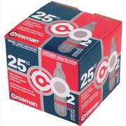 Crosman Powerlet CO2 12g Cartridges - 25ct