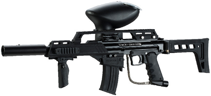 Empire BT-4 Slice G36 ELITE Paintball Gun - ROCKSTAR
