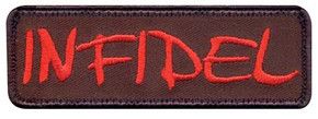 Infidel Velco Patch
