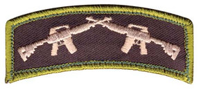 Crossed Guns Velco Patch