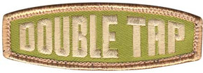 Double Tap Velco Patch