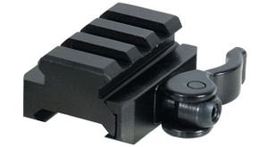 UTG Grade 3 Slot Universal Riser with QD Adapter