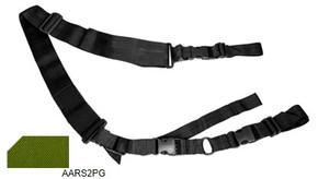 NcSTAR Vism AARS2PG 2 Point Tactical Sling - Green