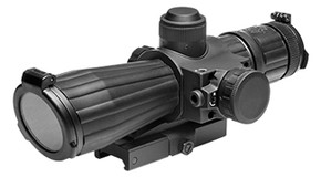 SALE! NcSTAR 4x32 Rubber Coated P4 Sniper Scope w/Laser and QR