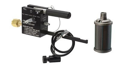 Ninja High Capacity CO2 Fill Station w/Muffler - ROCKSTAR