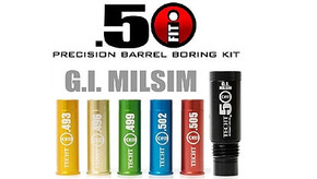 TechT .50 Caliber iFIT Barrel Bore 5 Piece Kit - GI Milsim
