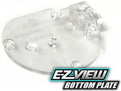 TechT E-Z View (EZ View) Cyclone Feed Cover - Clear