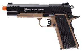 Elite Force 1911 Tac Pistol - BLK/DEB