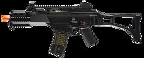 HK G36C w/Mosfet AEG Rifle - BLK