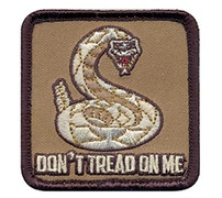 Don't Treat On Me Velco Patch
