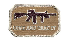 Come and Take It Velco Patch