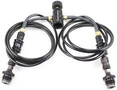Ninja Microbore Dual Remote Line w/ Slide Checks