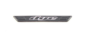 DYE Tactical DAM Side Body Logo Plate Blkpr - R10200223
