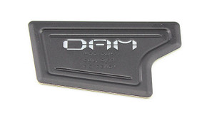 DYE Tactical DAM Recvr Well Logo Plt Blk pr - R10200226