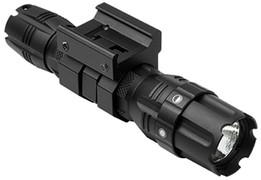 NcSTAR Pro Series Flashlight 250 Lumen - Weaver Style Mount