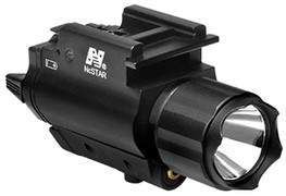 NcSTAR 200L Flashlight w/Green Laser Combo