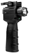 NcSTAR VISM Vertical Grip w/LED Flashlight/Green Laser