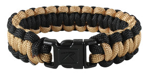 SALE! Rothco Two-Tone Paracord Bracelet