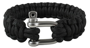 SALE! Rothco Paracord Bracelet w/ D-Shackle