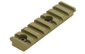 UTG PRO 8 Slot Keymod Picatinny Rail - OD Green