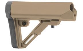 UTG PRO Model 4 Combat Ops S1 Mil-Spec Butt Stock - FDE