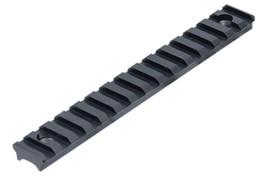 UTG PRO 15 Slot Super Slim Free Float Handguard Rail - Black